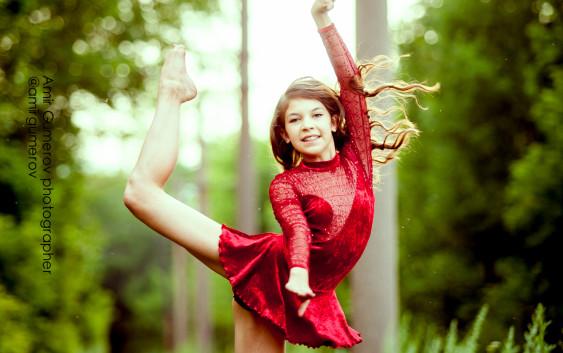 Азалия Сафина в рекламной съемке GalaSport